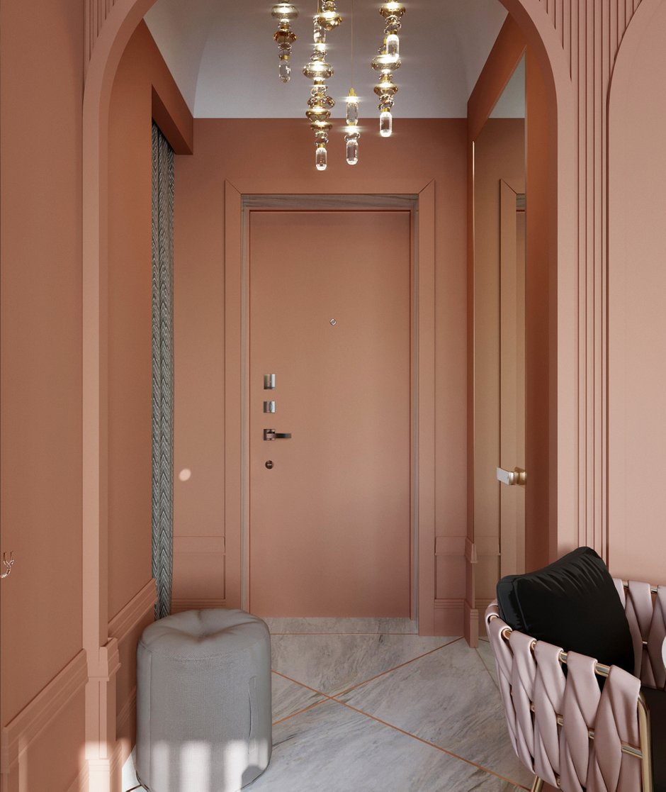 Фотография: Прихожая в стиле Современный, Малогабаритная квартира, Квартира, Проект недели, Санкт-Петербург, Сталинка, 1 комната, до 40 метров, АРИНА ТРОИЛОВА – фото на INMYROOM