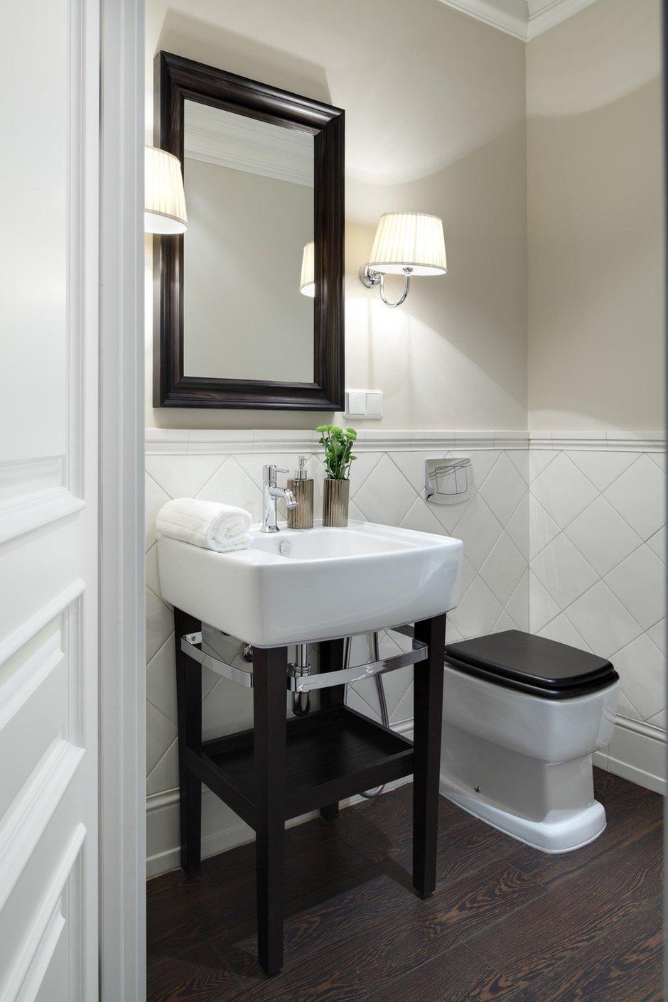 Фотография: Ванная в стиле Современный, Квартира, Текстиль, Дома и квартиры – фото на INMYROOM