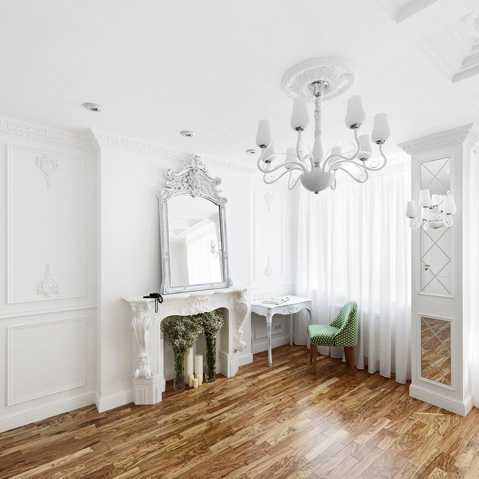 Фотография: Спальня в стиле , Квартира, Цвет в интерьере, Дома и квартиры, Белый, Проект недели – фото на INMYROOM