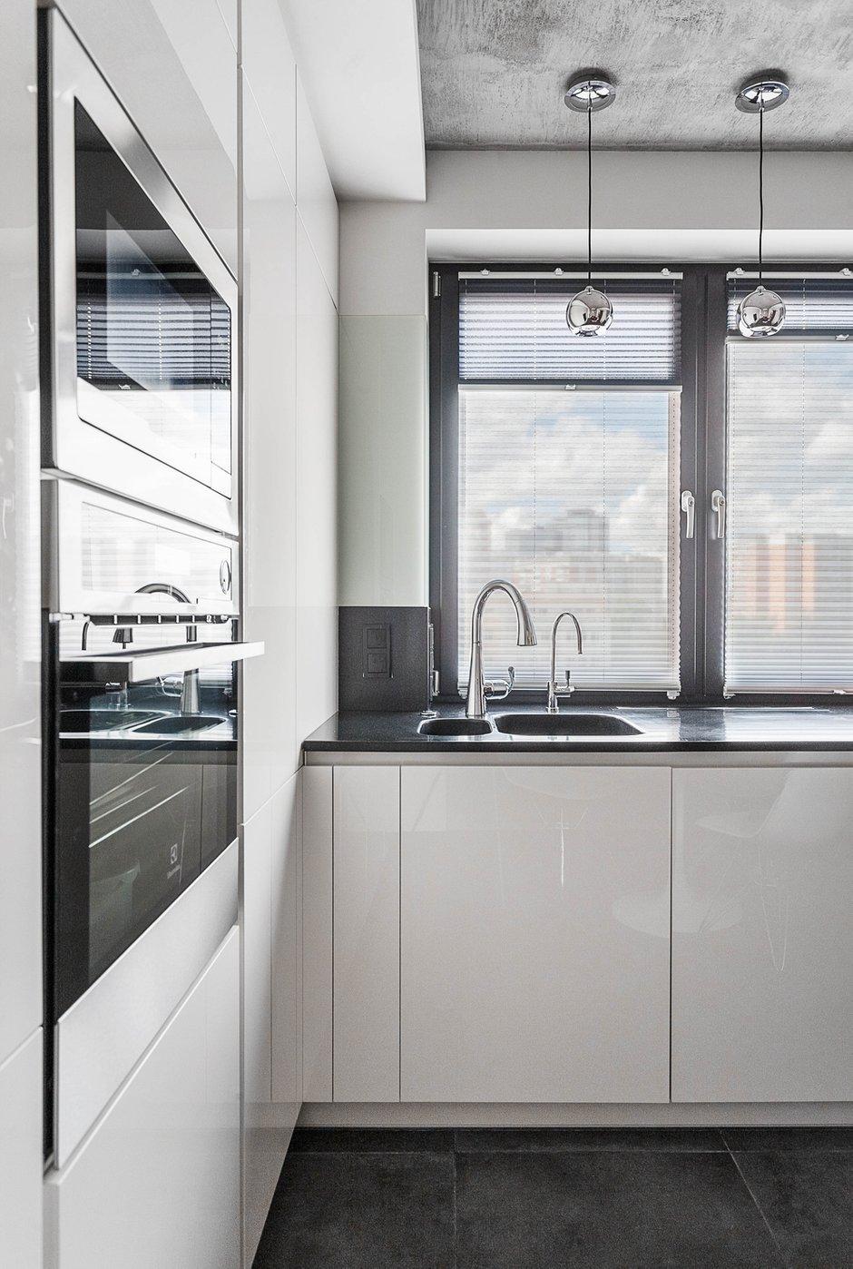 Фотография: Кухня и столовая в стиле Минимализм, Квартира, Проект недели, Москва, ИКЕА, Мила Титова, П44т – фото на INMYROOM