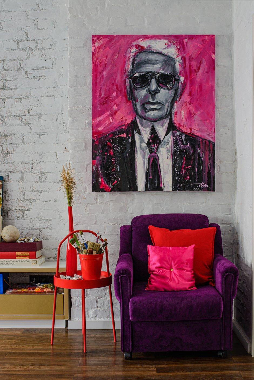 Фотография: Гостиная в стиле Прованс и Кантри, Эклектика, Квартира, Проект недели, Новосибирск, Кирпичный дом, 4 и больше, 60-90 метров, Art Twins Design, Тая Акулова, Глеб Скотников – фото на INMYROOM
