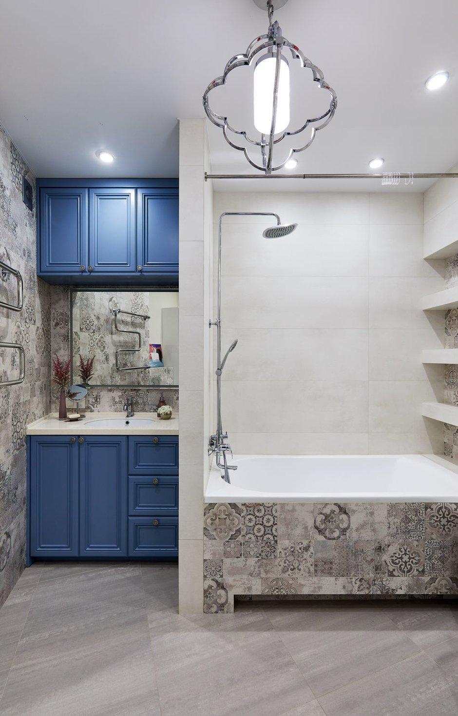 Фотография: Ванная в стиле Современный, Квартира, Проект недели, Долгопрудный, 4 и больше, Более 90 метров, Марина Каралкина – фото на INMYROOM