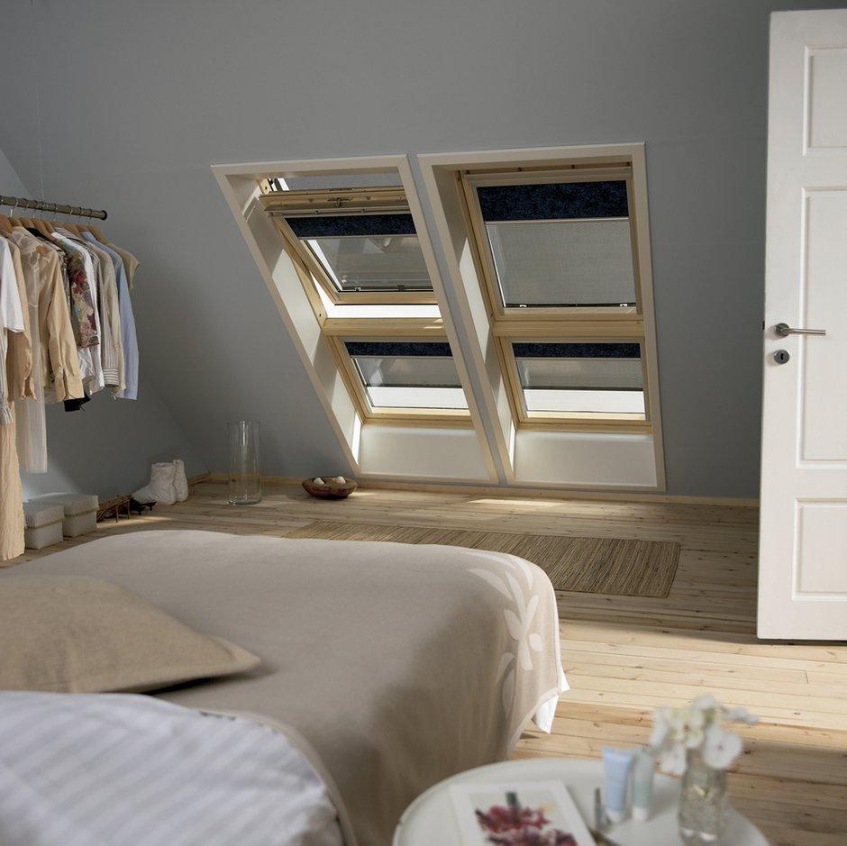 Фотография: Спальня в стиле Лофт, Дом, Дома и квартиры, Мансарда – фото на INMYROOM