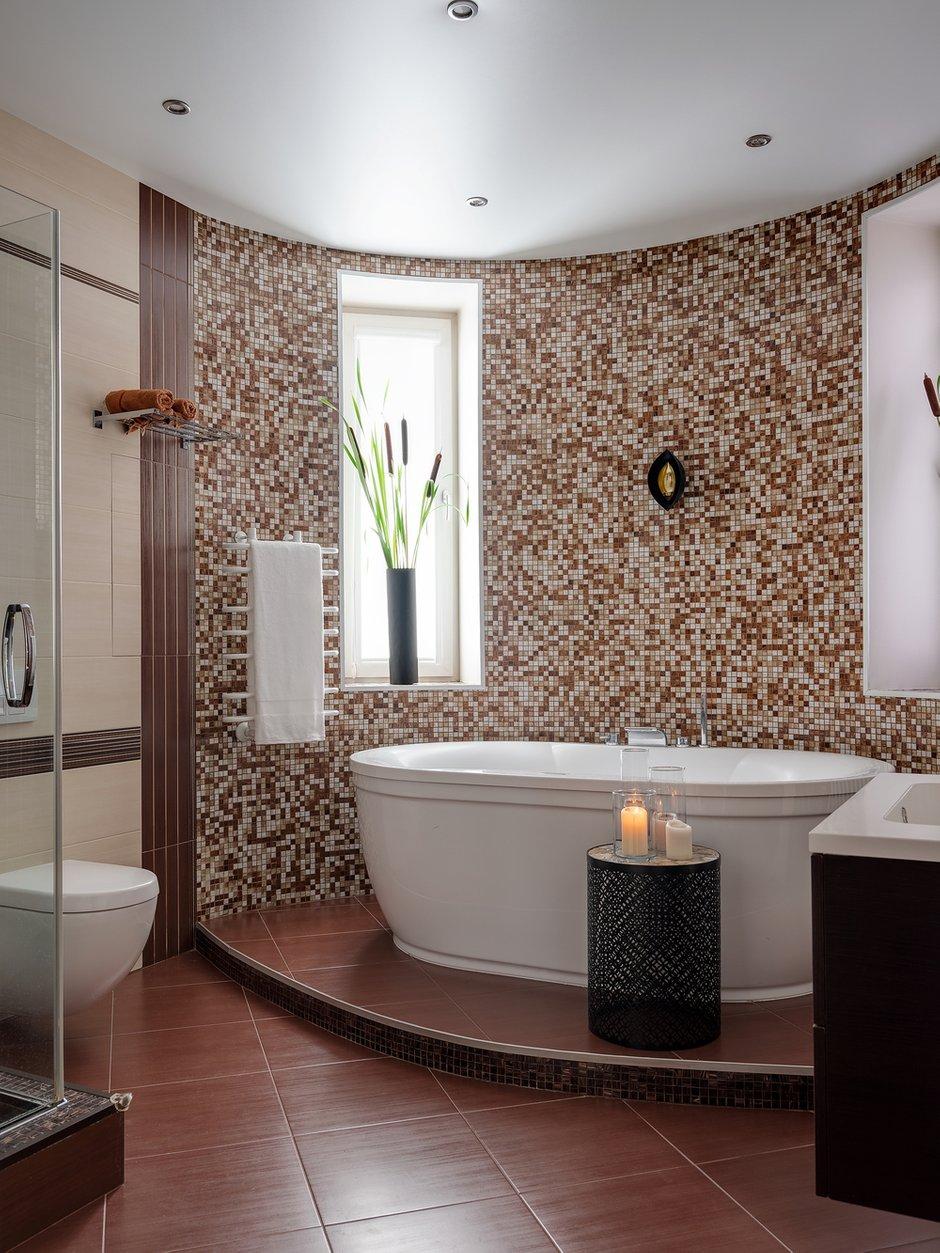Фотография: Ванная в стиле Современный, Квартира, Проект недели, 3 комнаты, Более 90 метров, Екатерина Беликова – фото на INMYROOM
