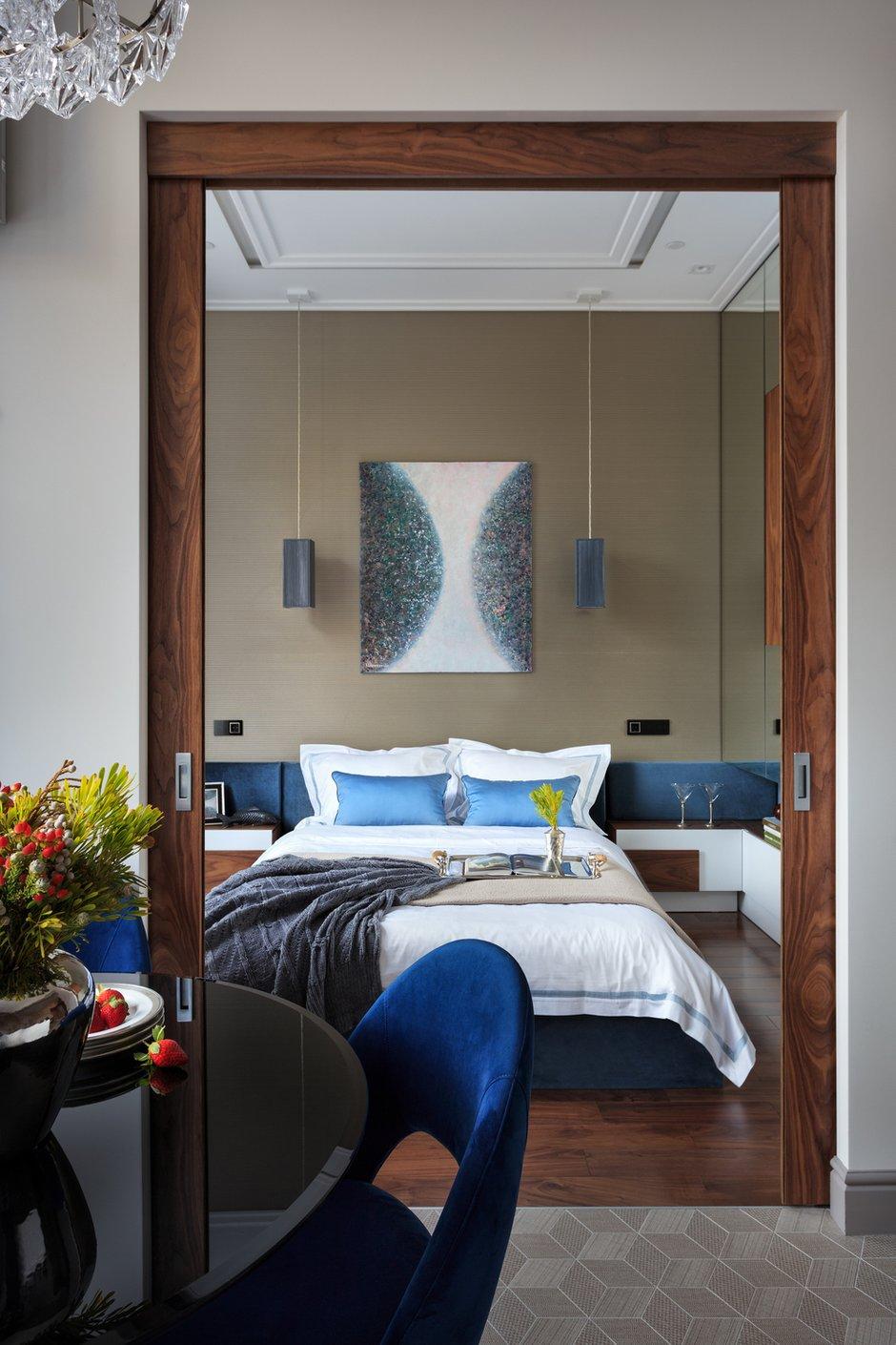 Фотография: Спальня в стиле Современный, Перепланировка – фото на INMYROOM
