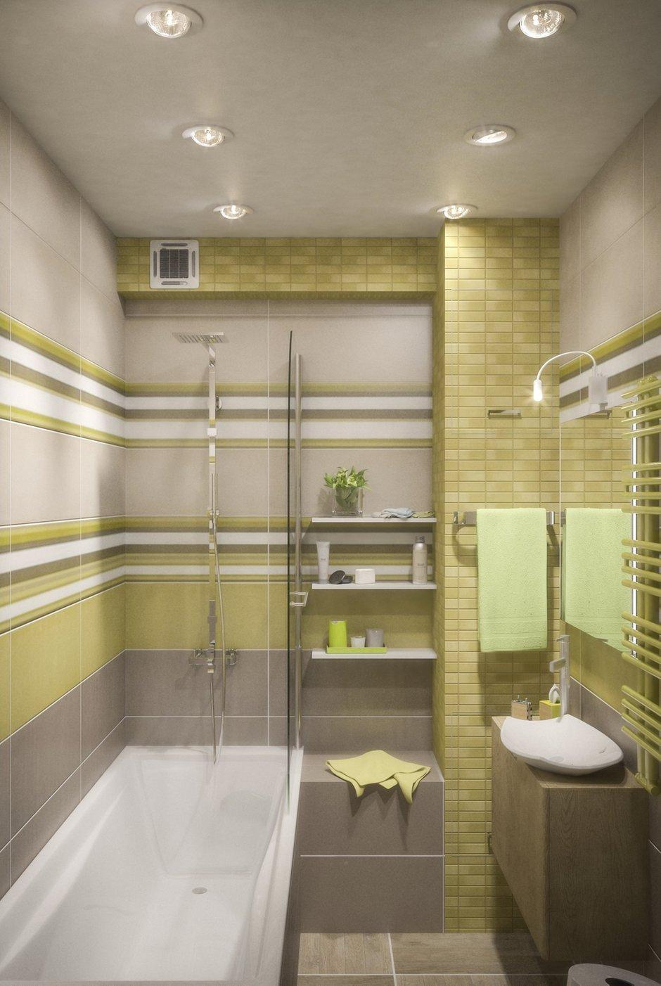 Фотография: Ванная в стиле Лофт, Современный, Малогабаритная квартира, Квартира, Дома и квартиры, Перепланировка – фото на INMYROOM
