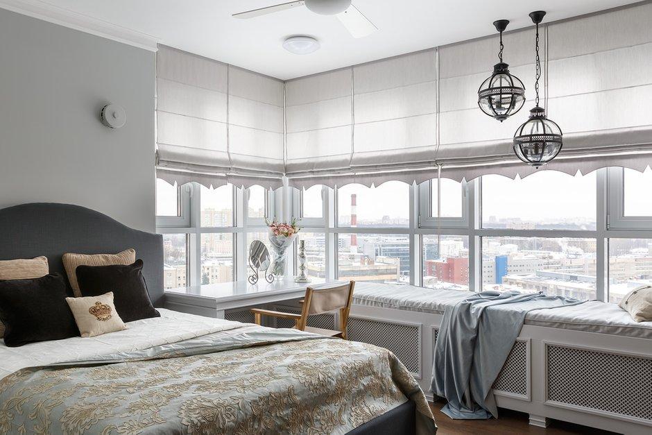 Фотография: Спальня в стиле Классический, Квартира, Проект недели, Санкт-Петербург, Монолитный дом, 4 и больше, Более 90 метров, Дизайн-Холл – фото на INMYROOM
