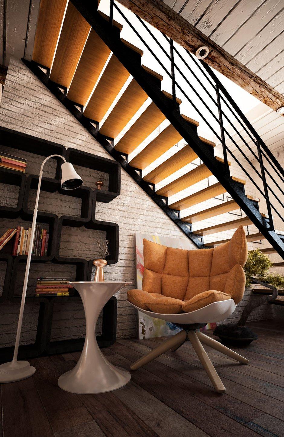 Фотография: Мебель и свет в стиле Лофт, Квартира, Дом, Дома и квартиры, Проект недели – фото на InMyRoom.ru