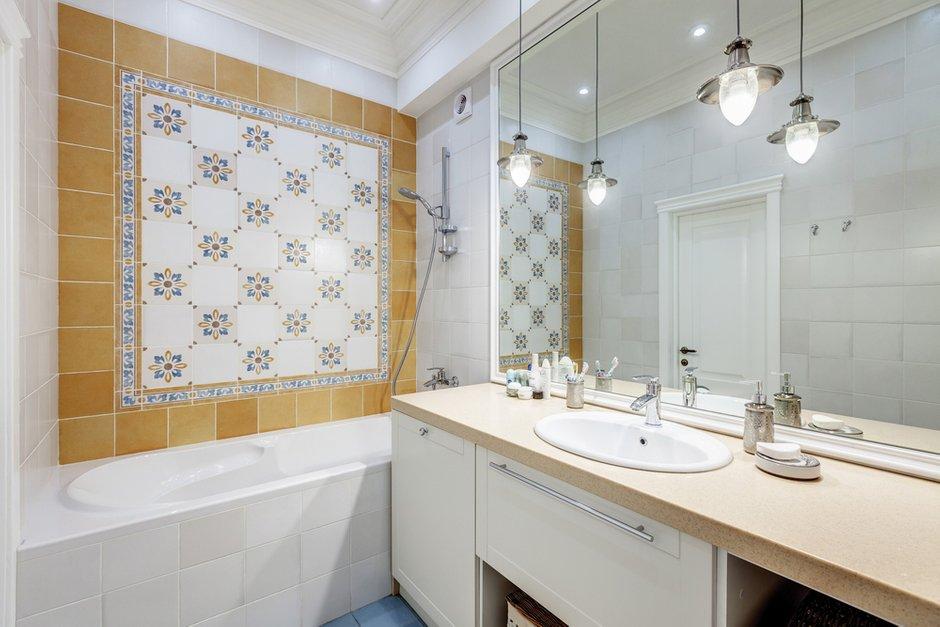Фотография: Ванная в стиле Современный, Эклектика, Квартира, Дома и квартиры, Проект недели – фото на INMYROOM
