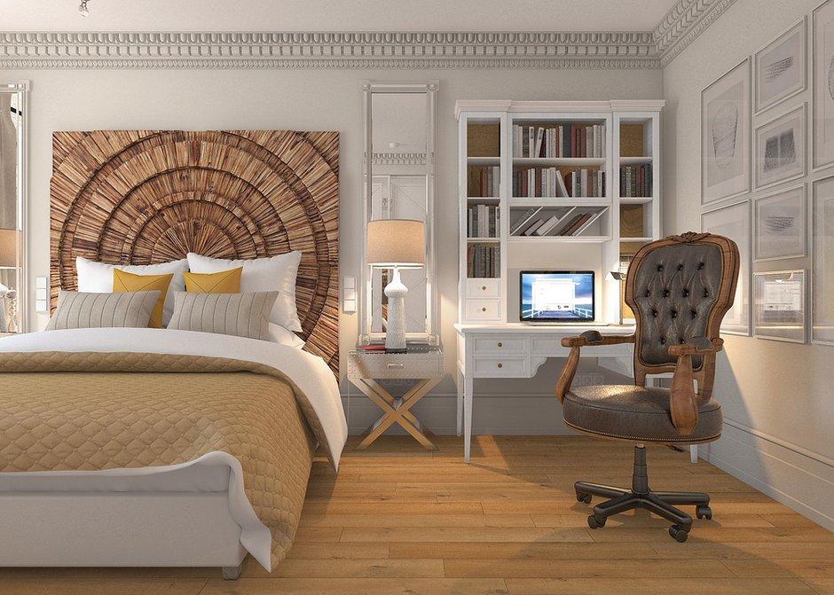 Фотография: Спальня в стиле Современный, Лофт, Квартира, Дома и квартиры – фото на INMYROOM