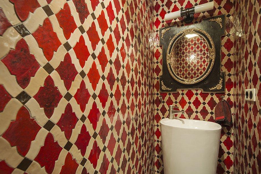 Фотография: Ванная, Прочее в стиле Прованс и Кантри, Эклектика, Квартира, Дома и квартиры, Проект недели – фото на INMYROOM