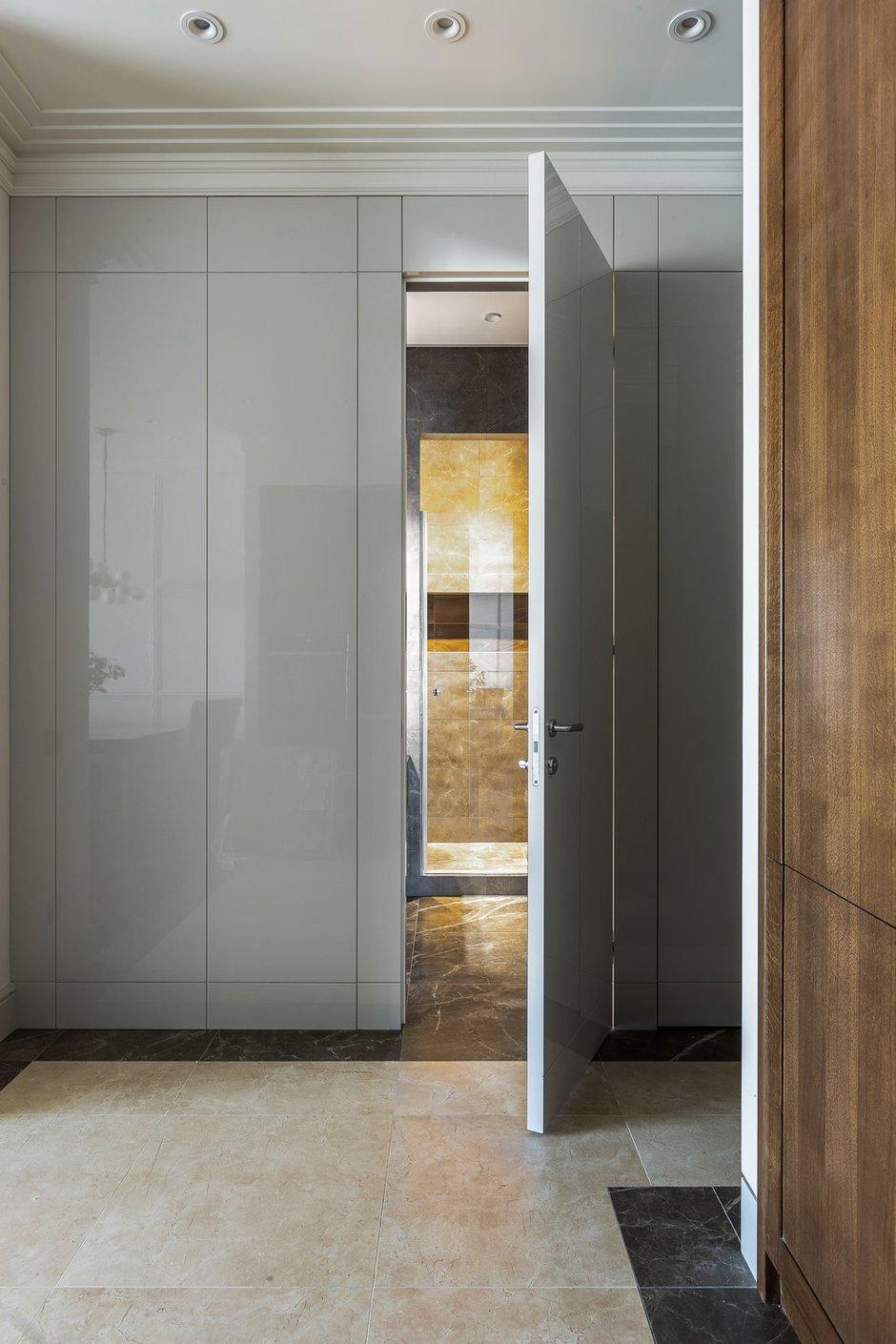 Фотография: Прихожая в стиле Современный, Квартира, Проект недели, Москва, 2 комнаты, 40-60 метров, Алина Лютая – фото на INMYROOM