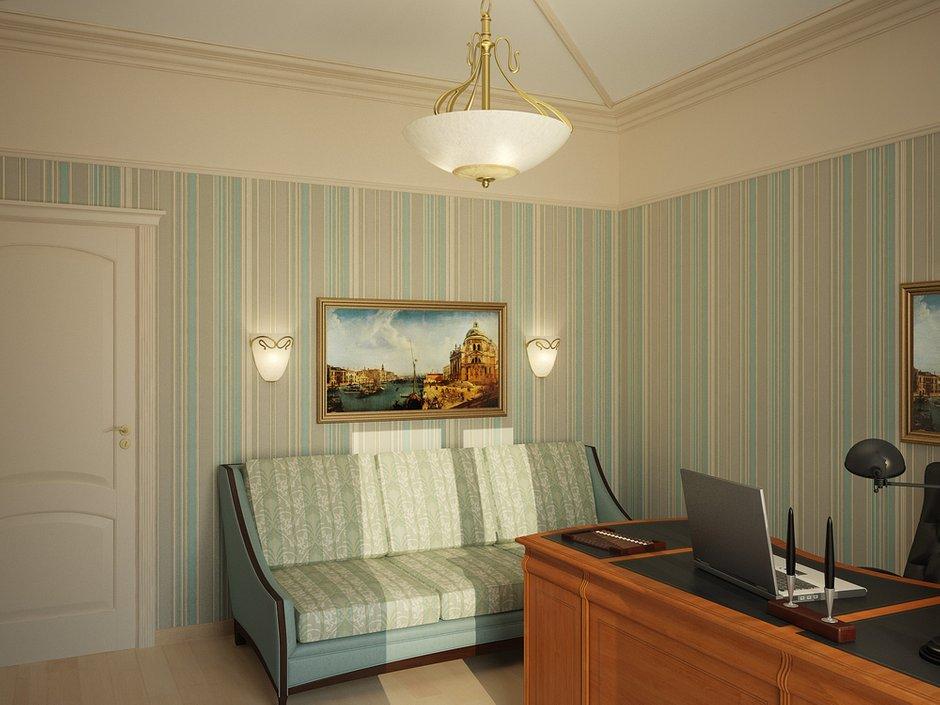 Фотография: Офис в стиле Классический, Квартира, Дома и квартиры, Москва – фото на INMYROOM