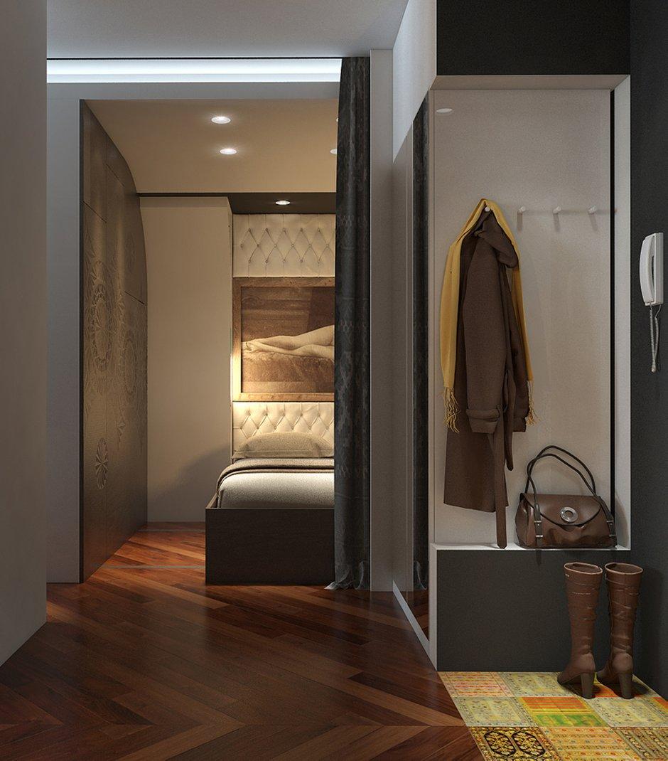 Фотография: Прихожая в стиле Эклектика, Квартира, Дома и квартиры, Проект недели – фото на INMYROOM