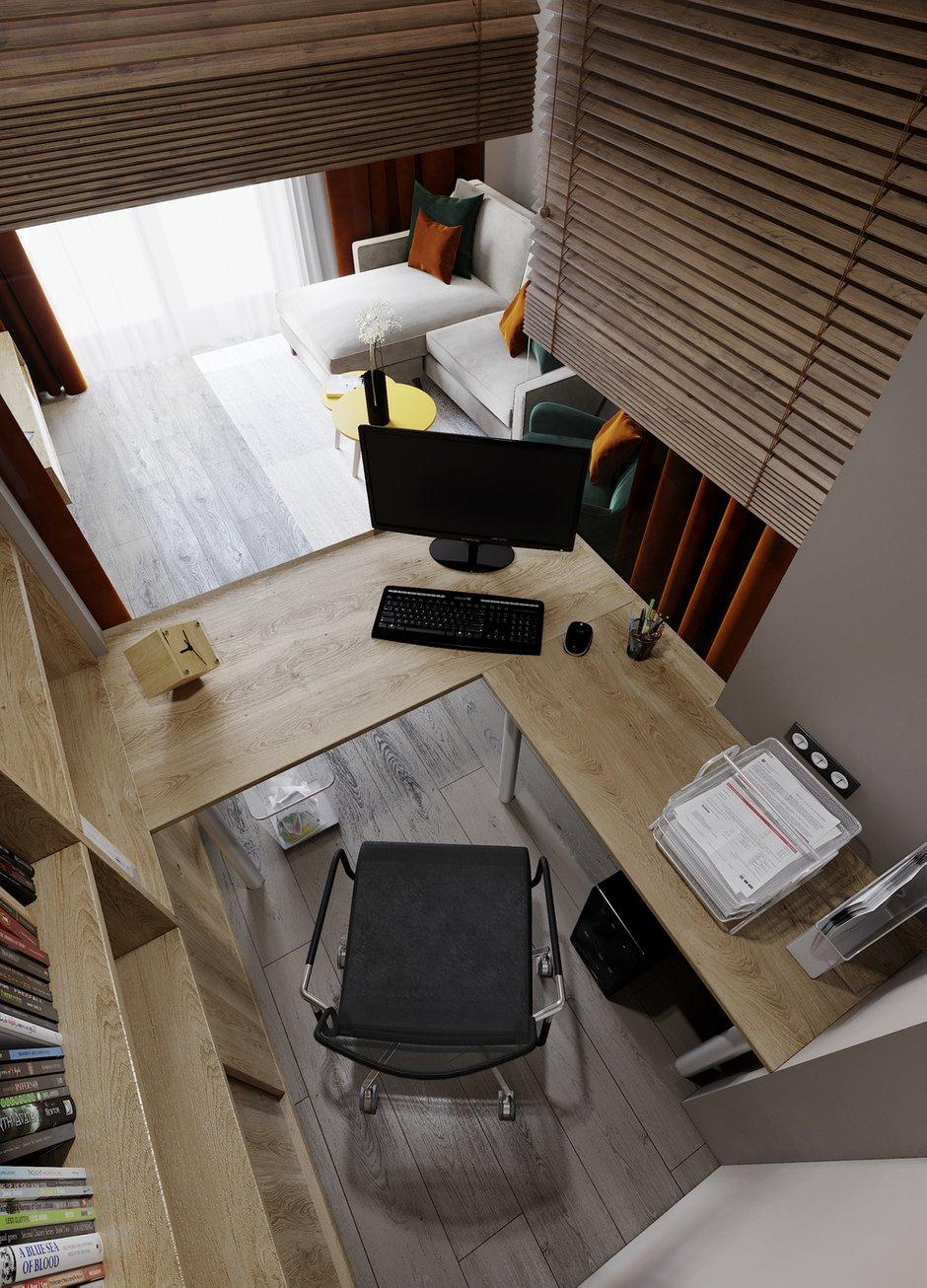 Фотография: Кабинет в стиле Современный, Проект недели, ПРЕМИЯ INMYROOM – фото на INMYROOM