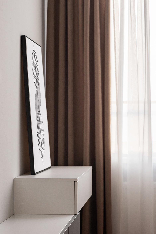 Фотография: Спальня в стиле Современный, Квартира, Проект недели, 3 комнаты, 60-90 метров, Тюмень, Александра Хасанова – фото на INMYROOM