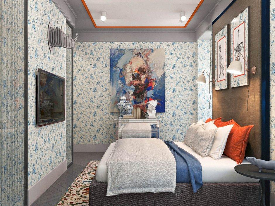 Фотография: Спальня в стиле Скандинавский, Классический, Эклектика, Квартира, Проект недели – фото на INMYROOM