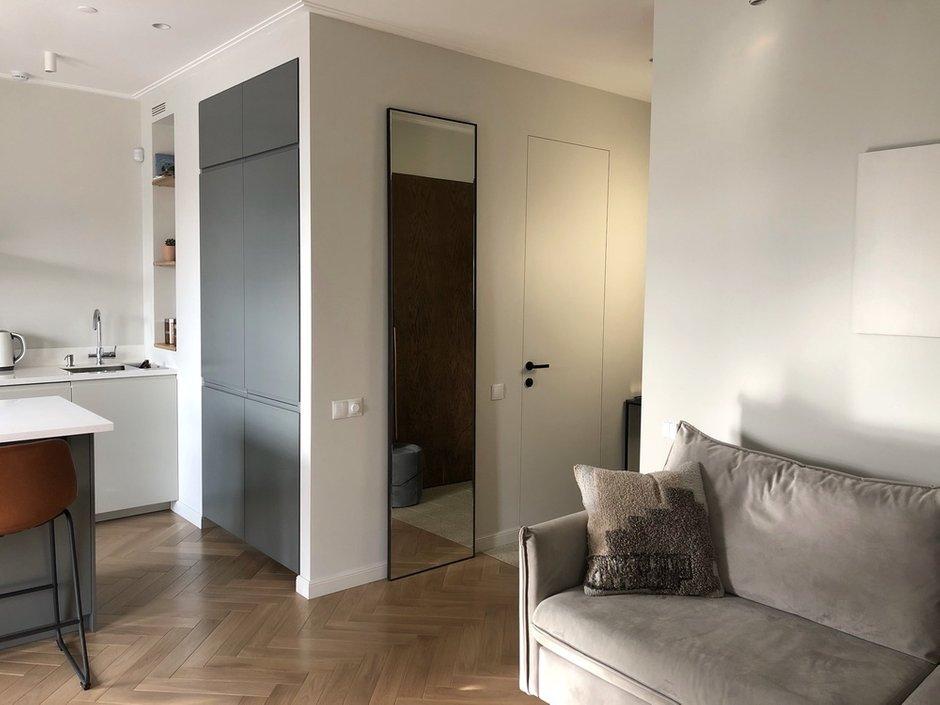 Фотография: Гостиная в стиле Современный, Квартира, Проект недели, Москва, 2 комнаты, 40-60 метров, Planidesign – фото на INMYROOM