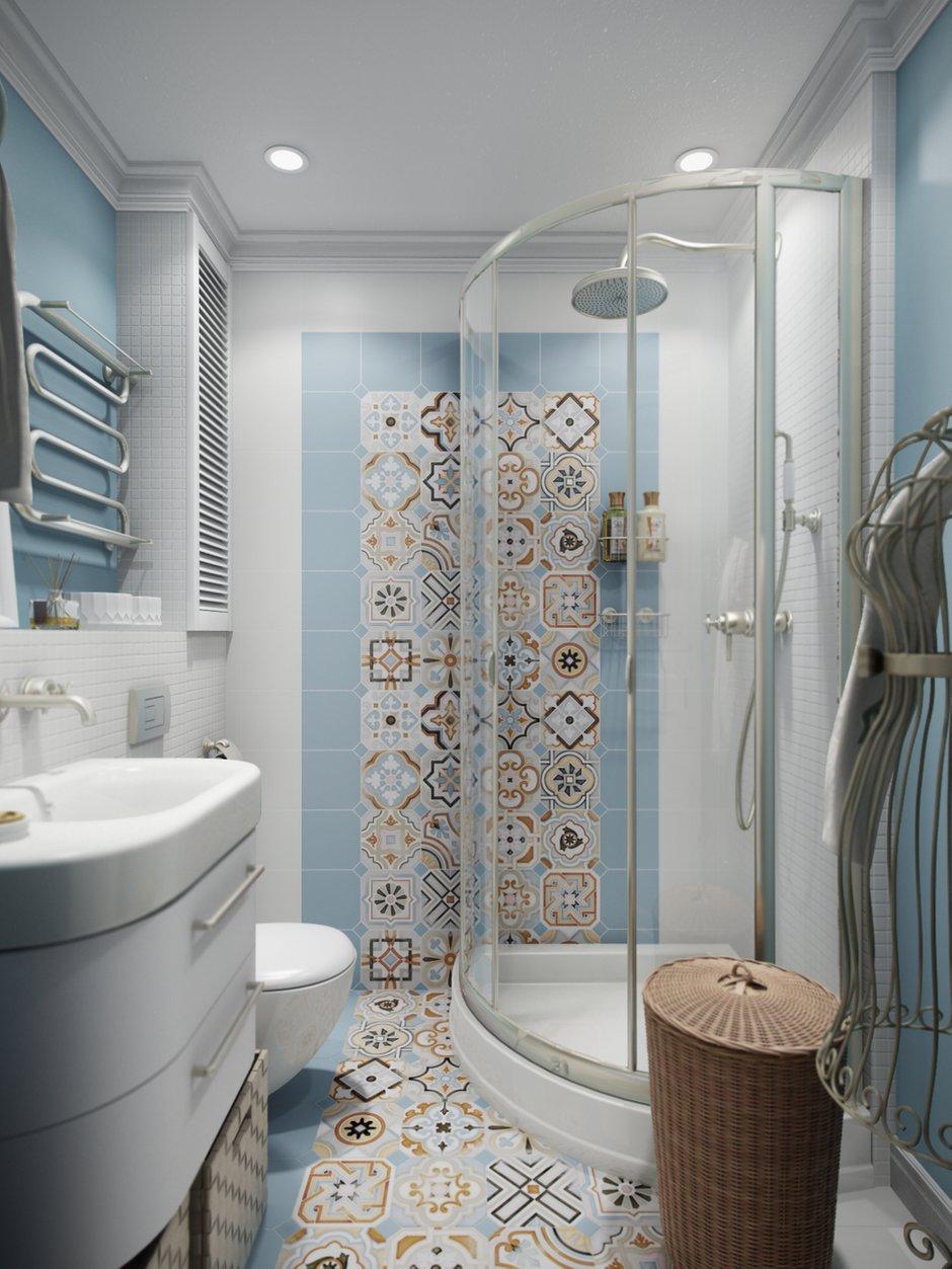 Фотография: Ванная в стиле Прованс и Кантри, Современный, Эклектика, Квартира, Проект недели – фото на INMYROOM