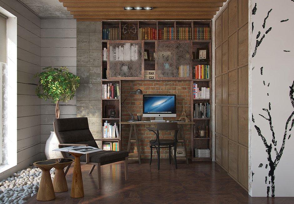 Фотография: Офис в стиле Лофт, Декор интерьера, Квартира, Foscarini, Restoration Hardware, Дома и квартиры, IKEA, Проект недели – фото на INMYROOM