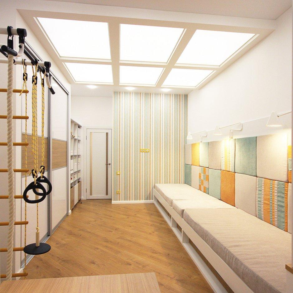 Фотография:  в стиле , Скандинавский, Квартира, Проект недели, Илья Бокарев, Bokarev architects, новостройка, Монолитный дом, 2 комнаты, Более 90 метров – фото на INMYROOM