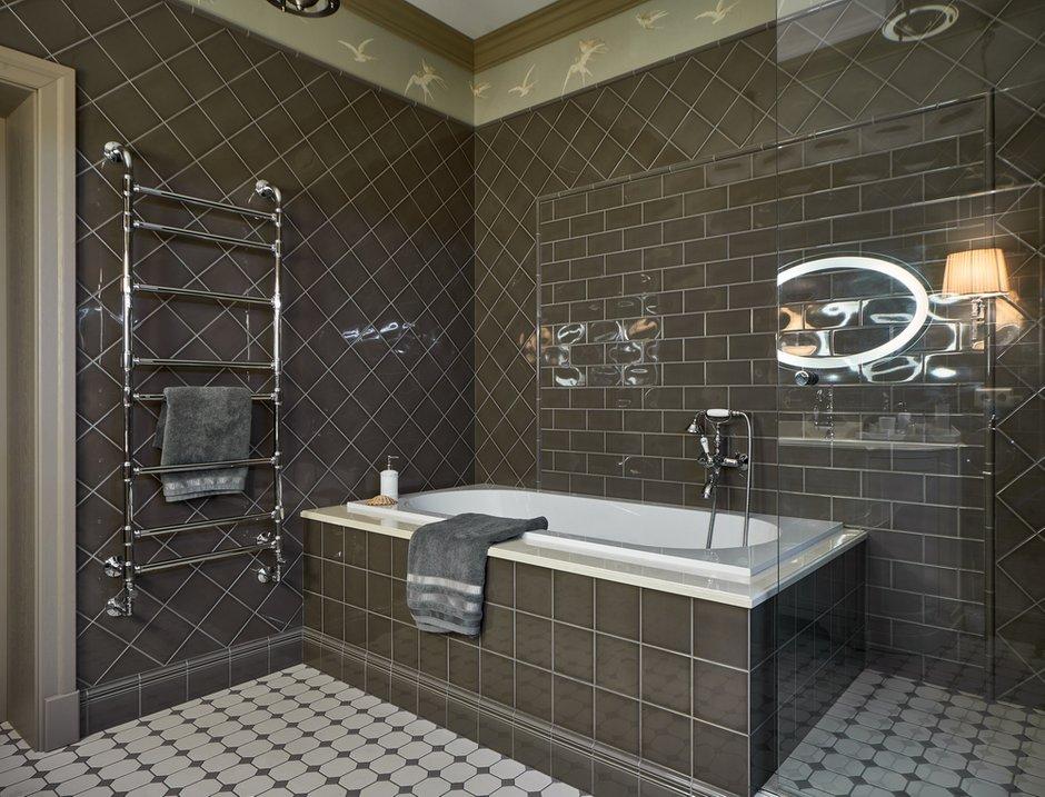Фотография: Ванная в стиле Классический, Современный, Эклектика, Квартира, Проект недели, Калининград, 4 и больше, Более 90 метров, Виктория Лазарева – фото на INMYROOM