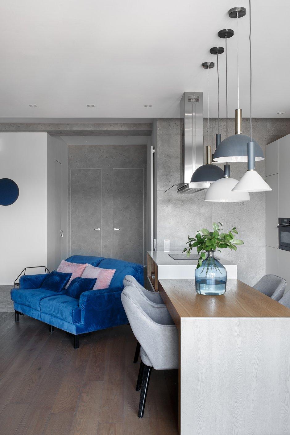 Фотография: Кухня и столовая в стиле Современный, Квартира, Проект недели, 3 комнаты, Более 90 метров, Владивосток, Miyao Studio – фото на INMYROOM