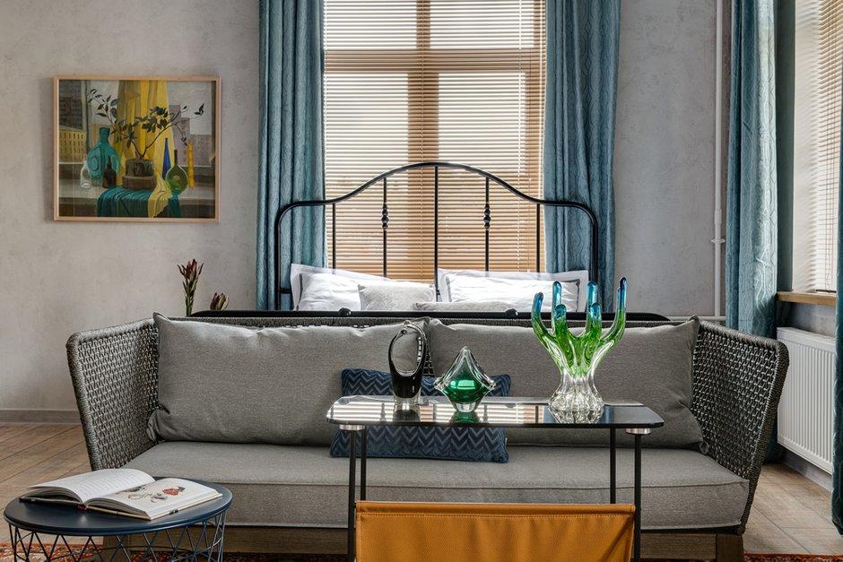 Фотография: Гостиная в стиле Лофт, Малогабаритная квартира, Квартира, Студия, Проект недели, Красногорск, до 40 метров, Элина Богомолова – фото на INMYROOM
