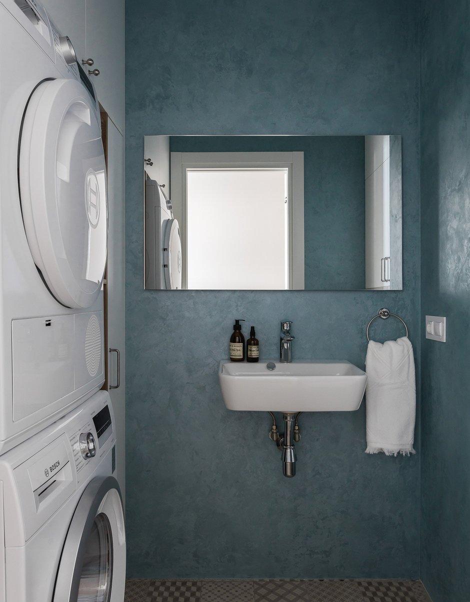Фотография: Ванная в стиле Современный, Квартира, Проект недели, Челябинск, 3 комнаты, Более 90 метров, Анна Важенина – фото на INMYROOM