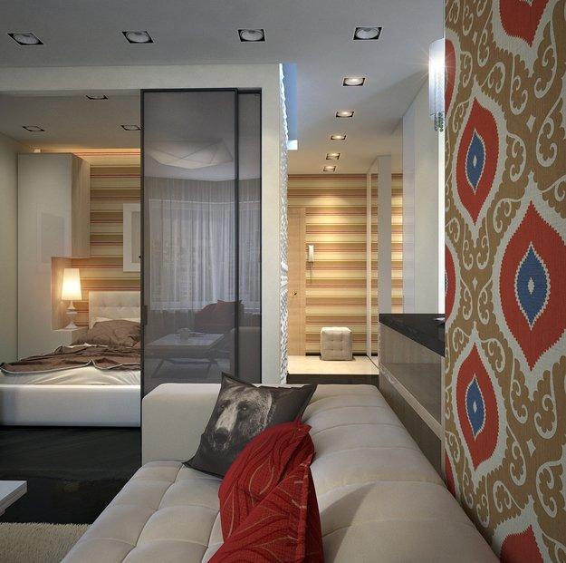 Фотография: Прочее в стиле , Малогабаритная квартира, Квартира, Дома и квартиры, Проект недели, Перепланировка – фото на INMYROOM
