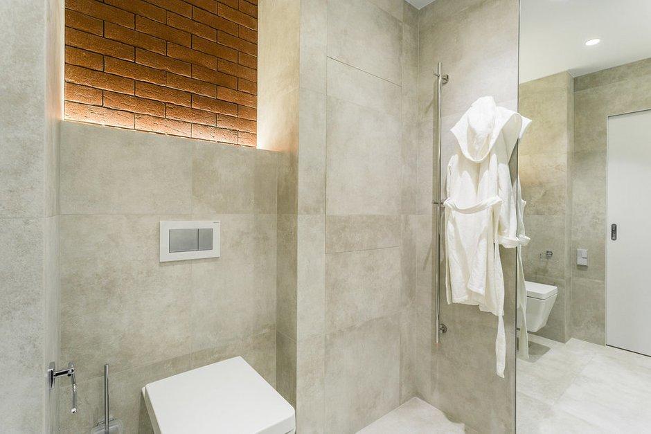 Фотография: Ванная в стиле Минимализм, Квартира, Проект недели, Реутов, 40-60 метров, Icon, Роман Потапов – фото на INMYROOM