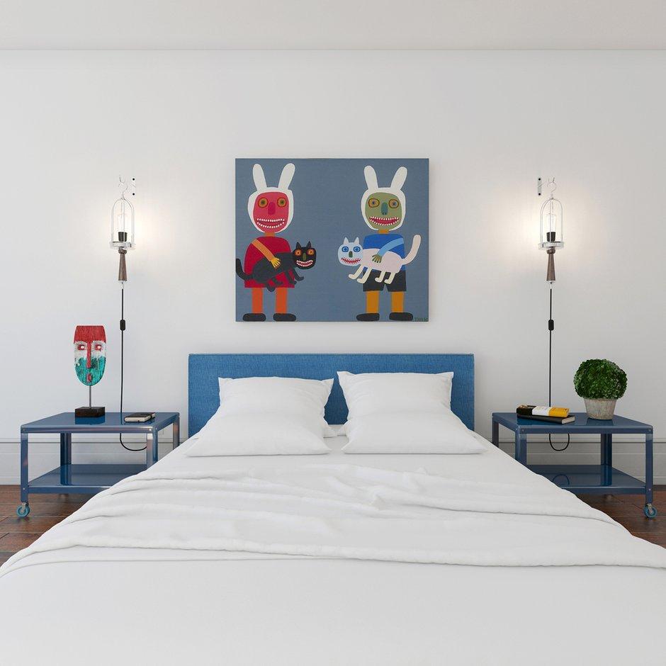 Фотография: Спальня в стиле Современный, Декор интерьера, Квартира, BoConcept, Eichholtz, Дома и квартиры, IKEA, Проект недели – фото на INMYROOM
