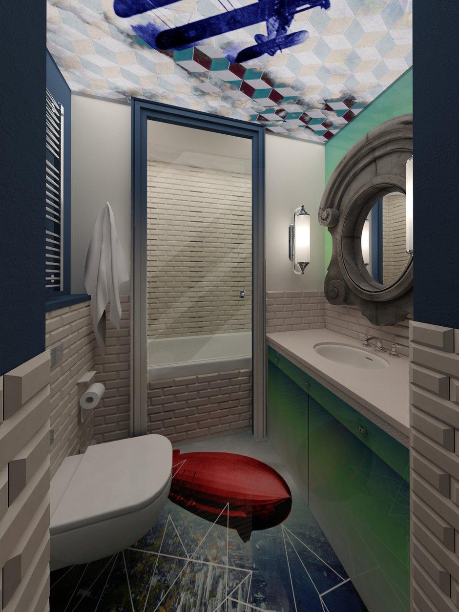 Фотография: Ванная в стиле , Квартира, Дома и квартиры, Проект недели, Переделка – фото на INMYROOM