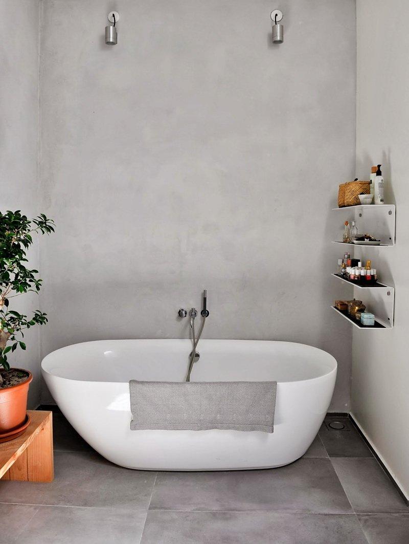 Фотография: Ванная в стиле Современный, Скандинавский, Квартира, Цвет в интерьере, Дома и квартиры, Белый, Черный – фото на INMYROOM