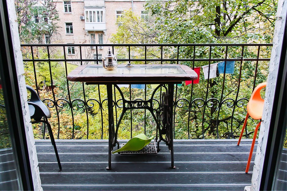 Фотография: Балкон, Терраса в стиле Прованс и Кантри, Квартира, Дома и квартиры, Минимализм, Проект недели – фото на InMyRoom.ru