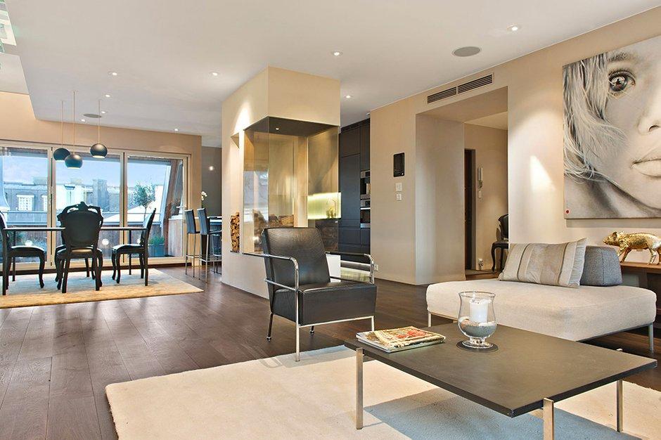 Фотография: Гостиная в стиле Современный, Квартира, Швеция, Дома и квартиры, Пентхаус, Стокгольм – фото на INMYROOM