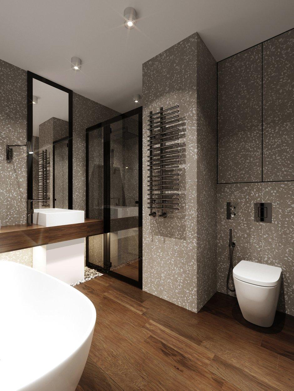 Фотография: Ванная в стиле Современный, Квартира, Проект недели, Монолитный дом, 2 комнаты, 40-60 метров, ЖК «Маяк» – фото на INMYROOM