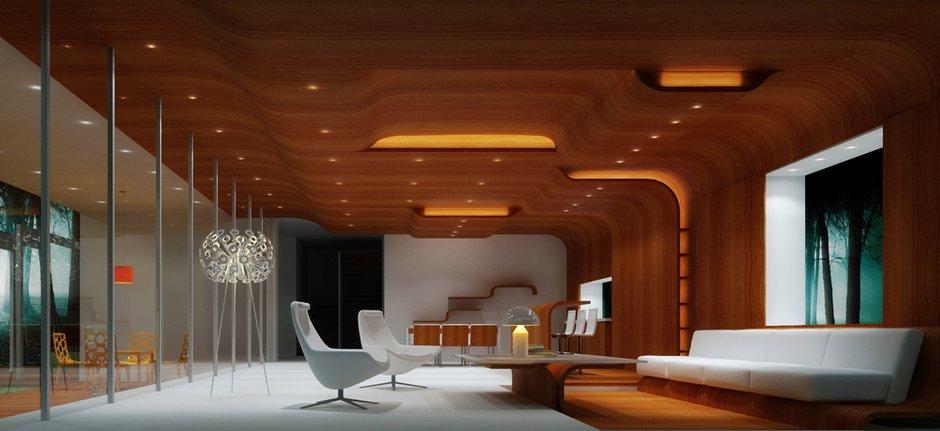 Фотография: Гостиная в стиле Современный, Декор интерьера, Дом, Дома и квартиры, Архитектурные объекты, Проект недели – фото на INMYROOM