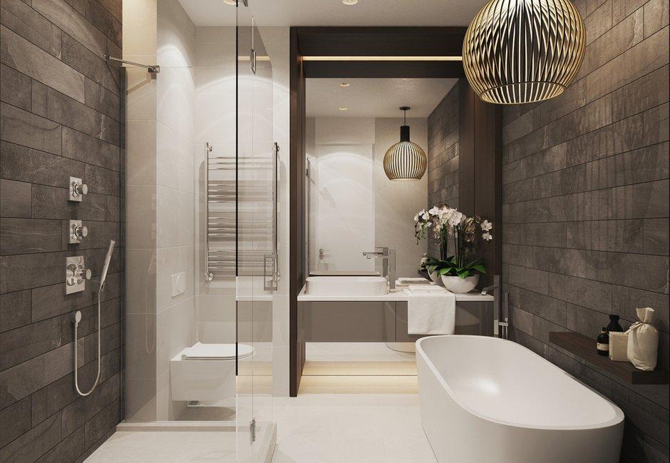 Фотография: Ванная в стиле Прованс и Кантри, Эклектика, Квартира, Минимализм, Проект недели – фото на INMYROOM