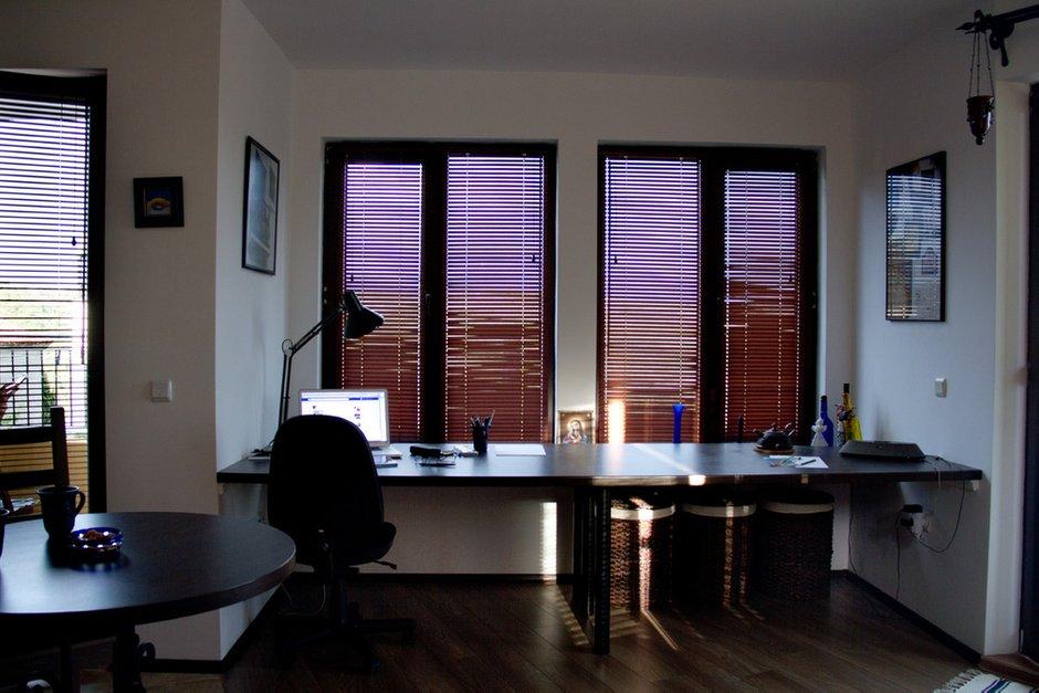 Фотография: Офис в стиле , Декор интерьера, Квартира, Цвет в интерьере, Дома и квартиры, Стены – фото на InMyRoom.ru