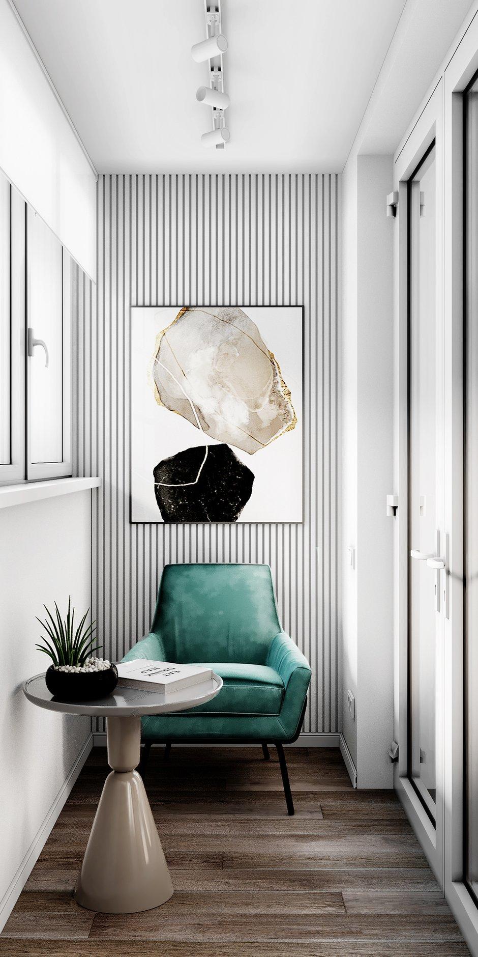 Фотография: Балкон в стиле Современный, Квартира, Проект недели, 3 комнаты, Более 90 метров, Люберцы, Александра Гартке – фото на INMYROOM