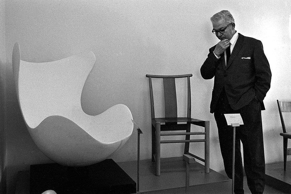 Арне Якобсен, 1958 год
