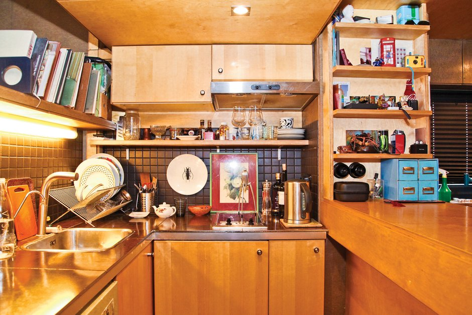 Фотография: Кухня и столовая в стиле , Малогабаритная квартира, Квартира, Дома и квартиры, Квартиры – фото на INMYROOM