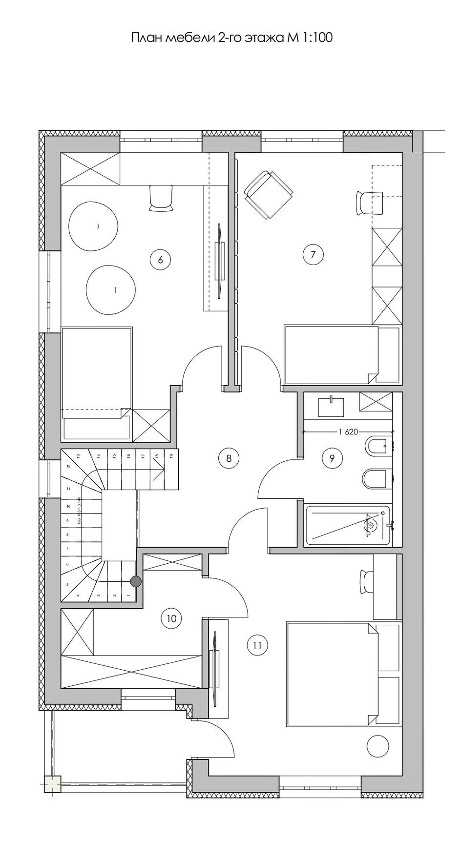 Фотография:  в стиле , Современный, Дом, Украина, Проект недели, Ирпень, Таунхаус, 4 и больше, Более 90 метров, Quader Architecture – фото на INMYROOM
