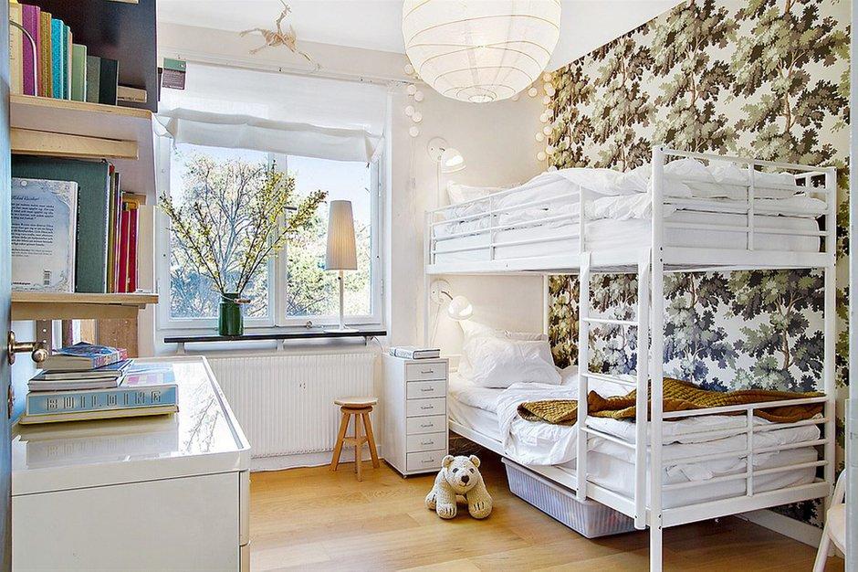 Фотография: Детская в стиле Современный, Скандинавский, Малогабаритная квартира, Квартира, Франция, Дома и квартиры – фото на INMYROOM