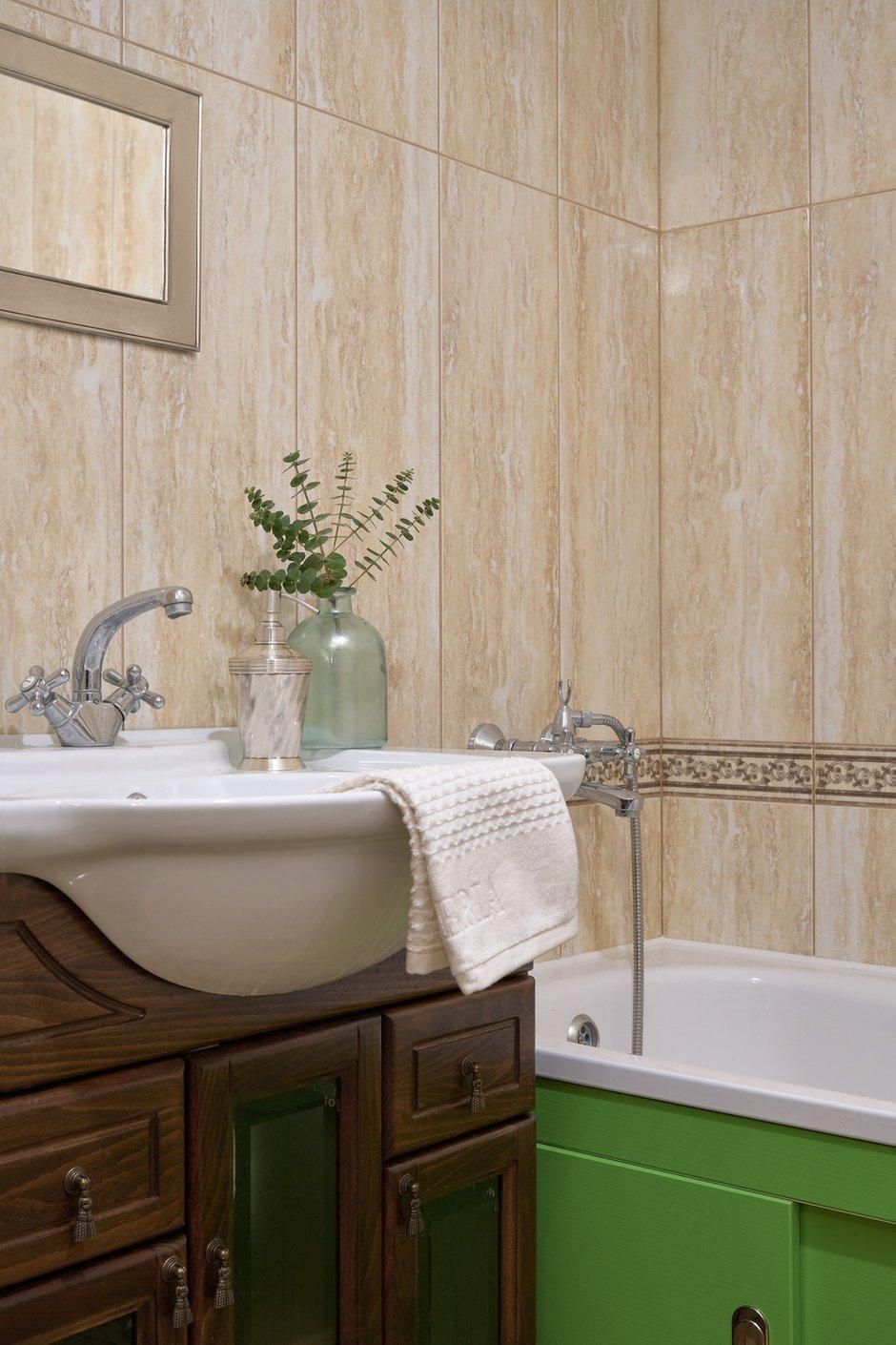 Фотография: Ванная в стиле Прованс и Кантри, Квартира, Проект недели, Красногорск, 3 комнаты, 60-90 метров, Более 90 метров, Евгения Ивлиева – фото на INMYROOM