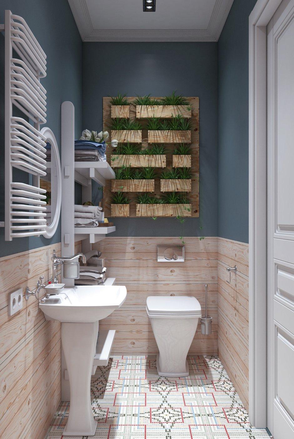 Фотография: Ванная в стиле Скандинавский, Малогабаритная квартира, Квартира, Проект недели, Марина Саркисян, Хельсинки, 2 комнаты, до 40 метров – фото на INMYROOM