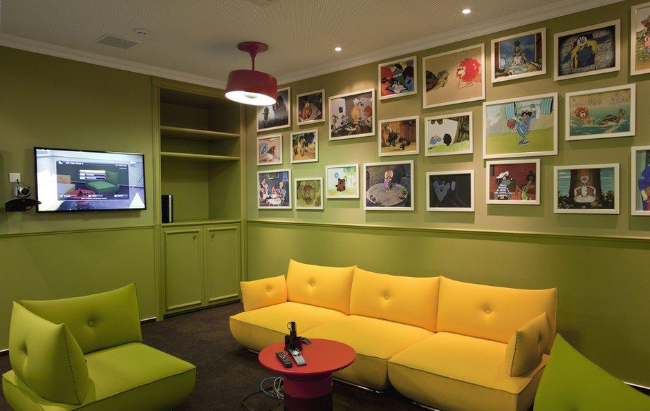 Фотография: Гостиная в стиле Прованс и Кантри, Офисное пространство – фото на InMyRoom.ru