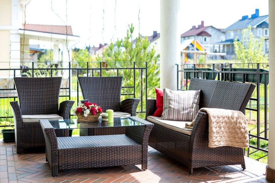 Фотография: Балкон, Терраса в стиле Восточный, Дом, Дома и квартиры – фото на INMYROOM
