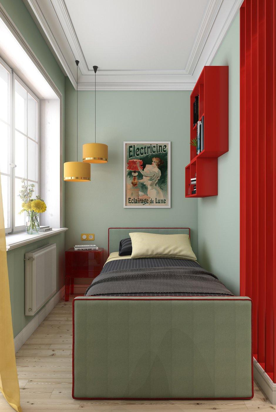 Фотография: Спальня в стиле Современный, Квартира, Студия, Проект недели, Марина Саркисян, Финляндия, до 40 метров – фото на INMYROOM